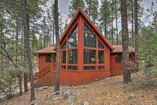best cabin rentals prescott az