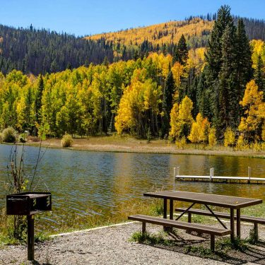 best lake camping colorado