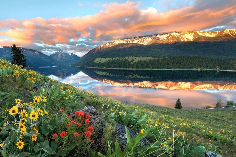 best lake camping oregon
