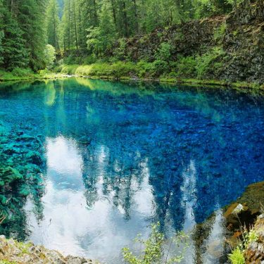 blue pool trail oregon