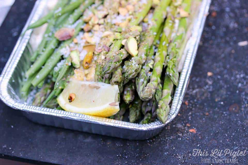 campfire asparagus green beens