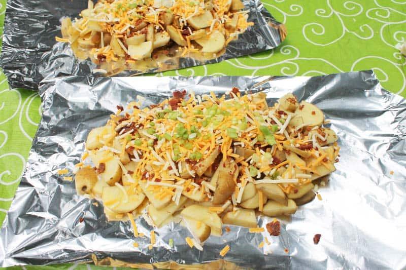campfire loaded potato recipe