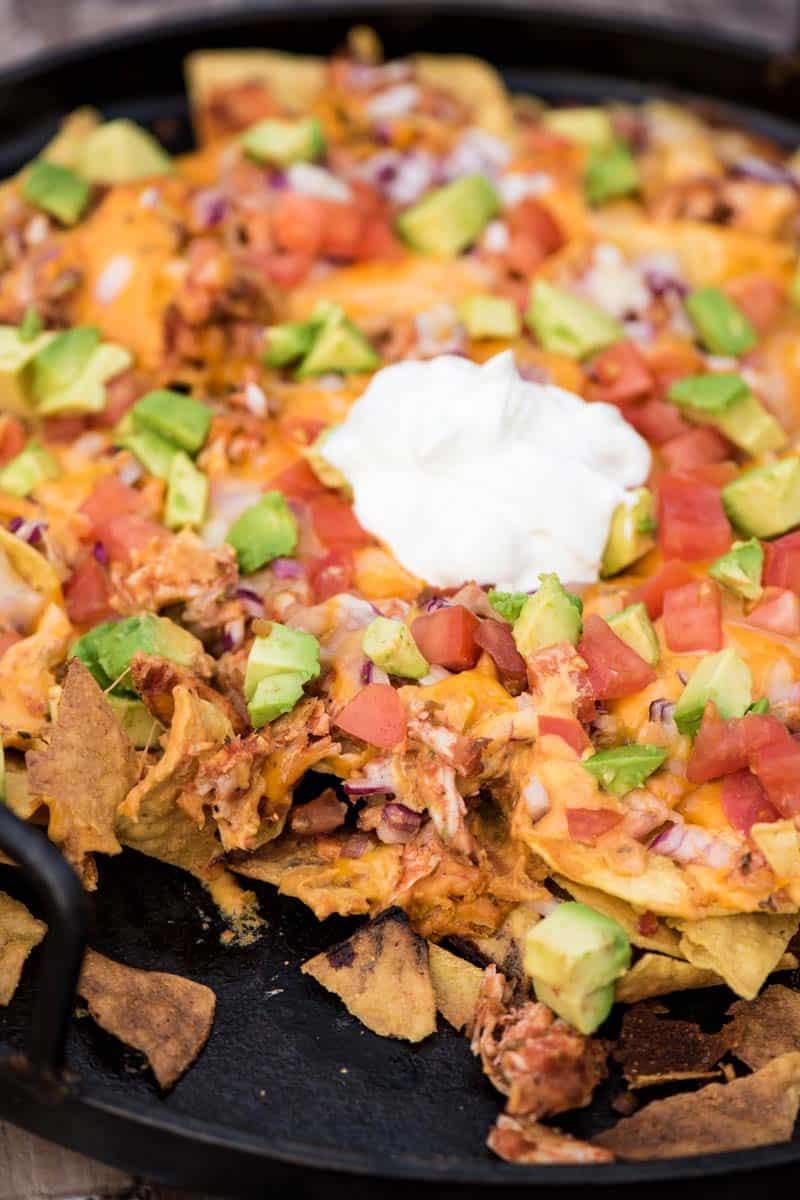 campfire nacho recipe