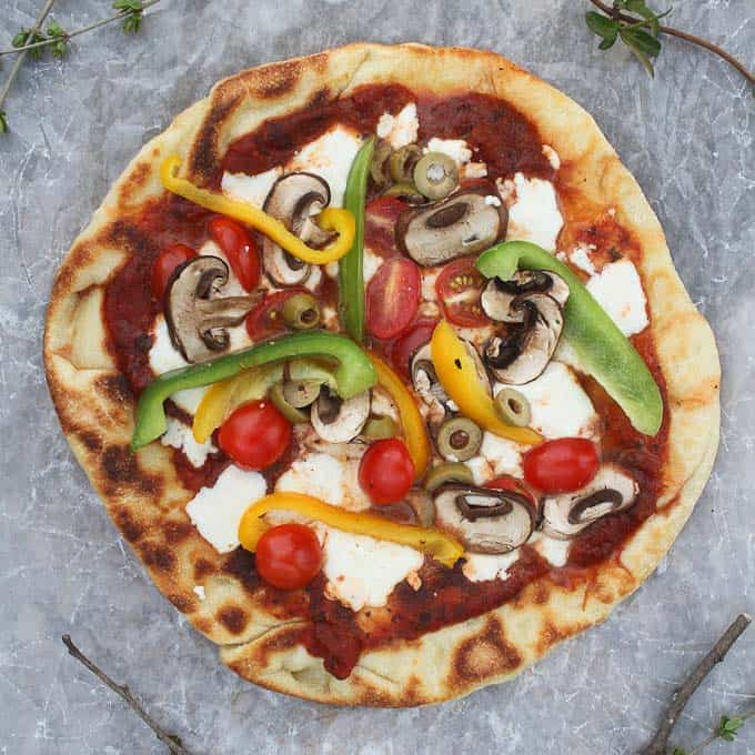 campfire pizza recipe