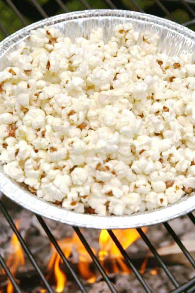 campfire popcorn recipe