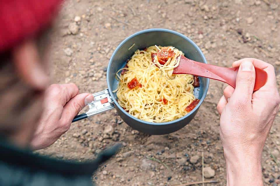 carbonara recipe camping