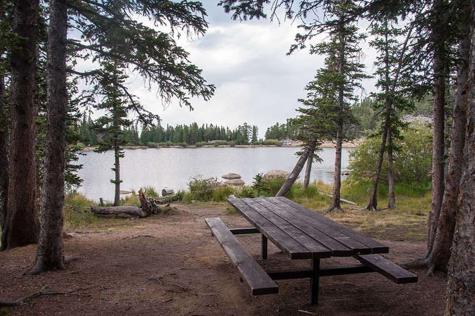 echo lake camping colorado