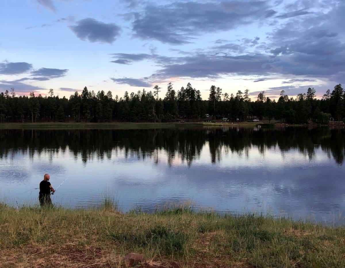 fishing white horse lake