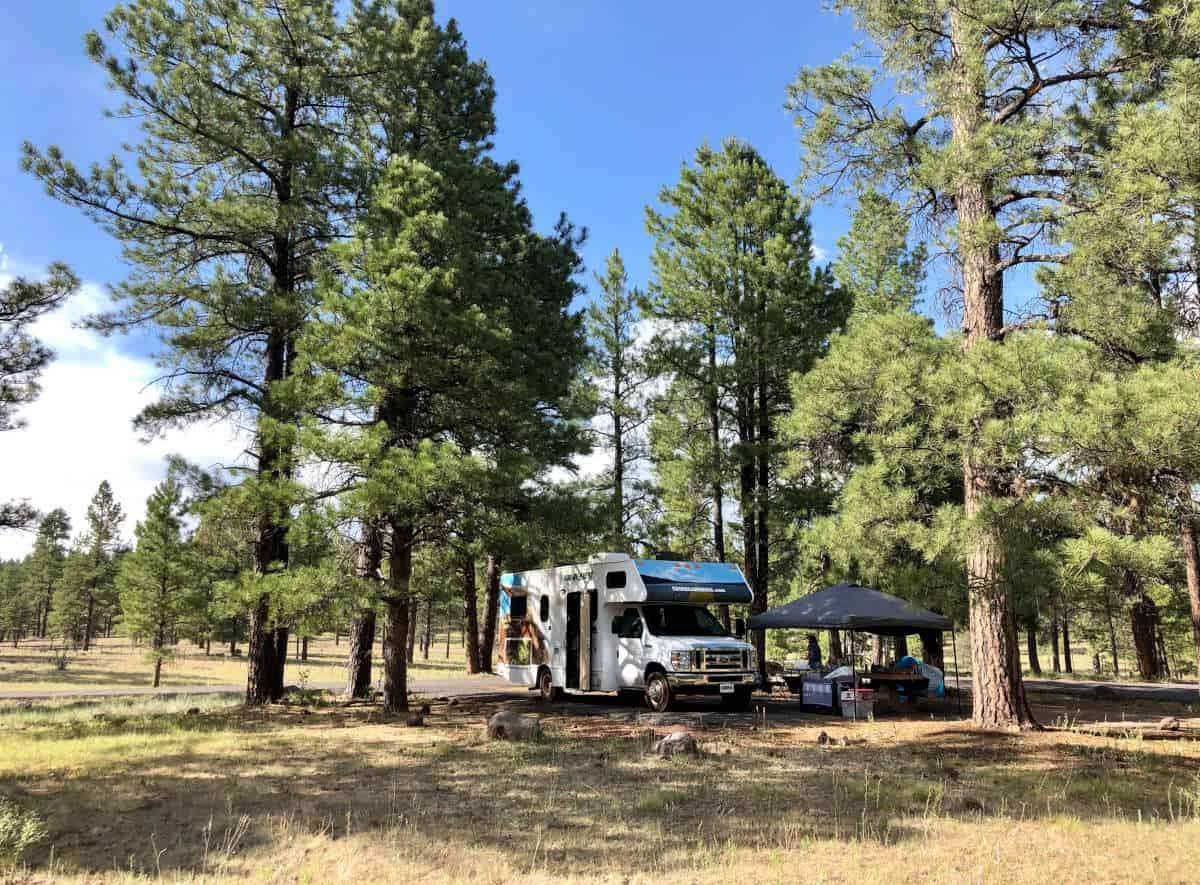rv camping white horse lake