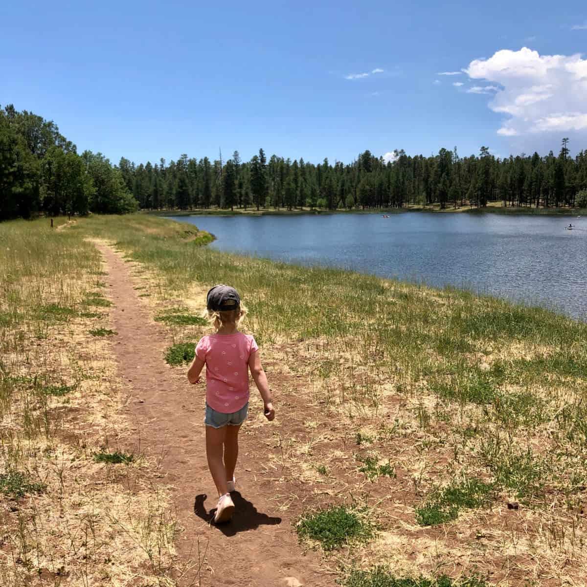 white horse lake trail #33