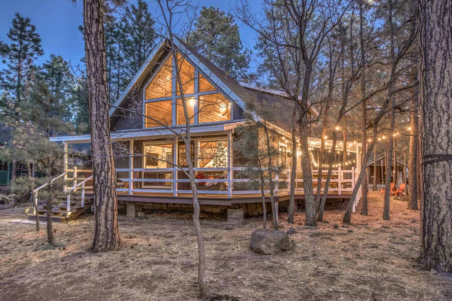 pinetop cabin for rent