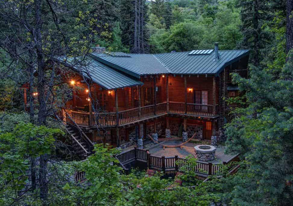 Exceptional Log Cabin utah rental