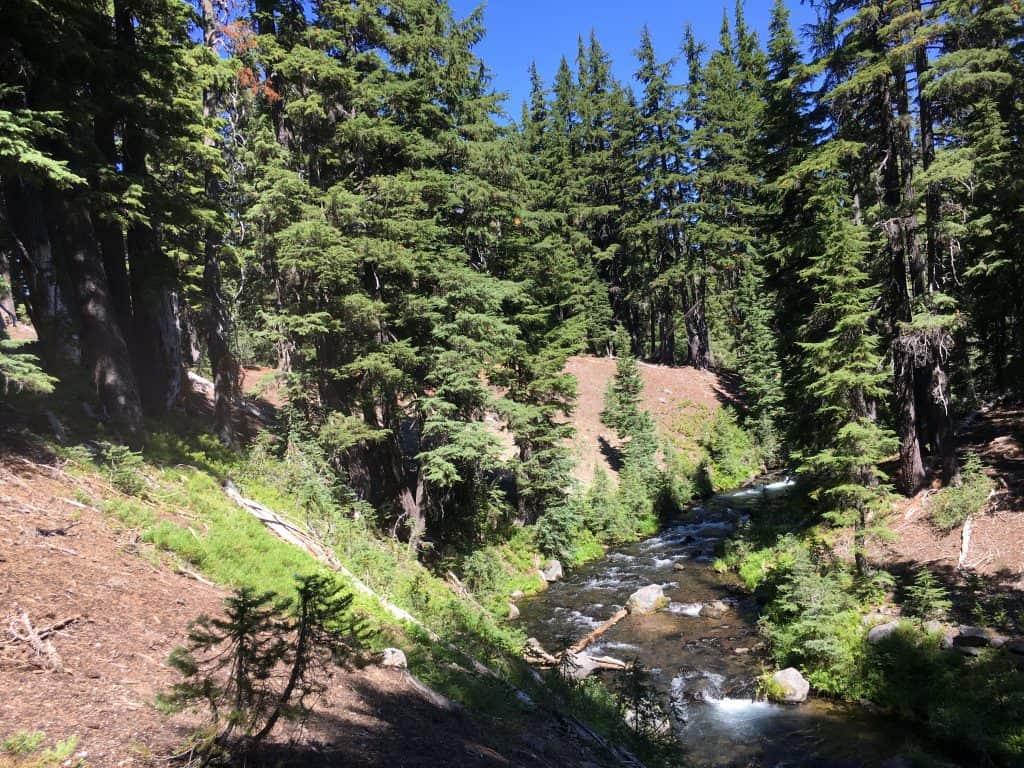 Green Lake Trail Falls Creek