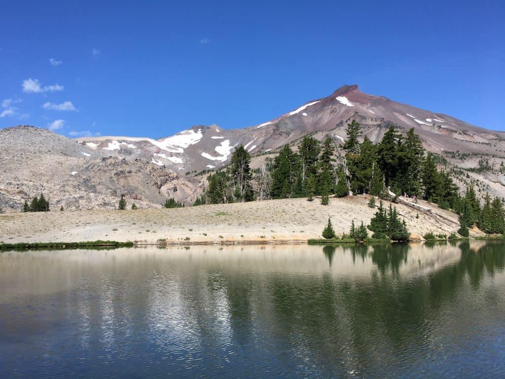 Green Lakes and South Sister