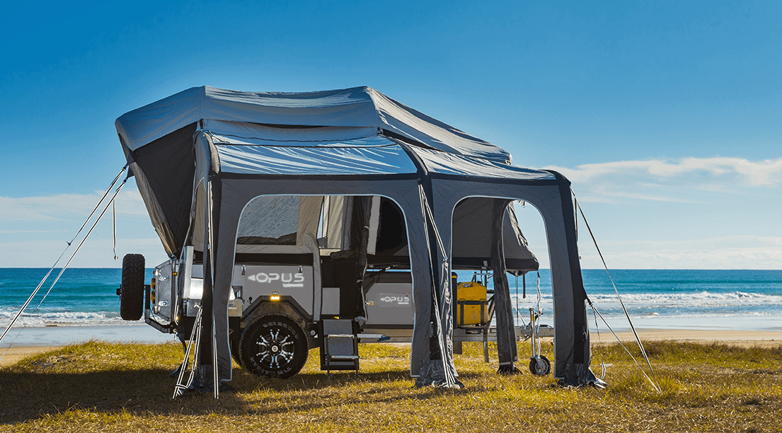 This is one of the best pop-up campers for anyone who wants an easy set up