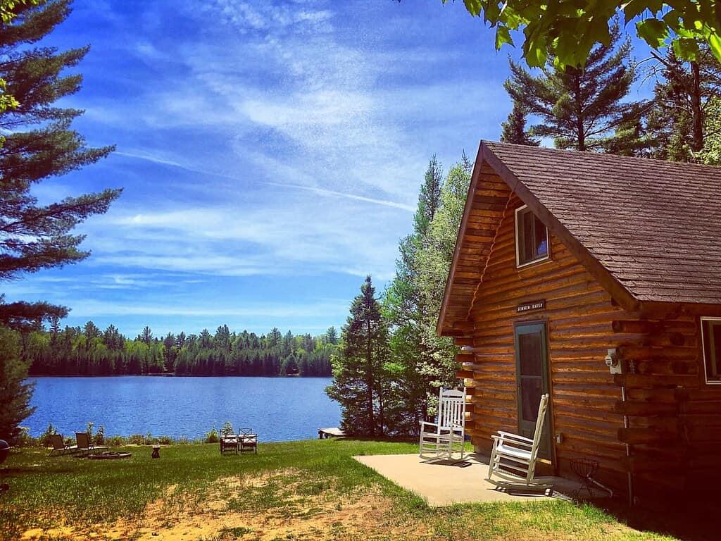 Quiet Log Cabin