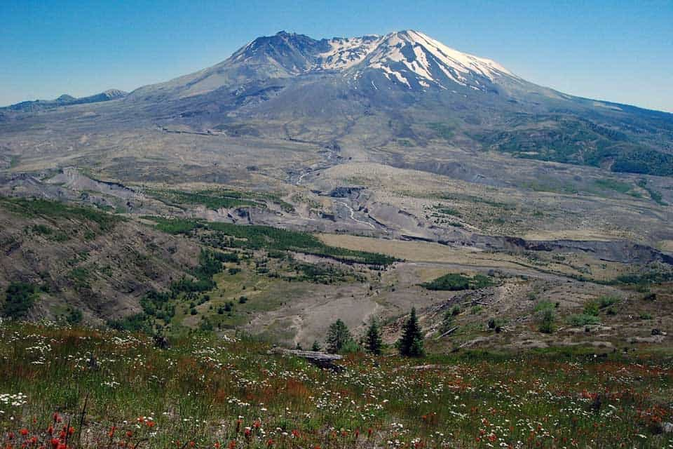 Seattle road trip to mount st helens