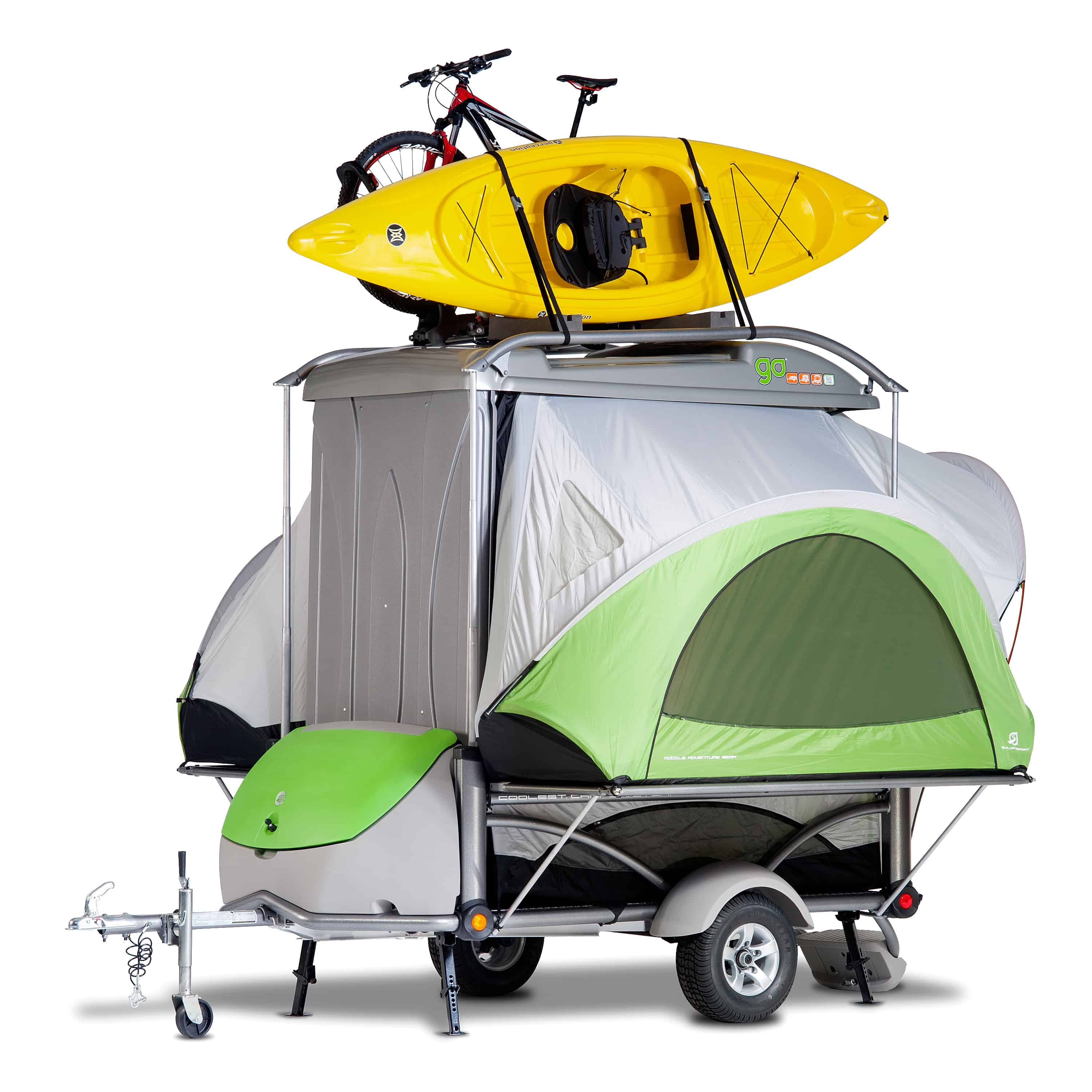 This is a great pop-up camper if versatility is the main issue