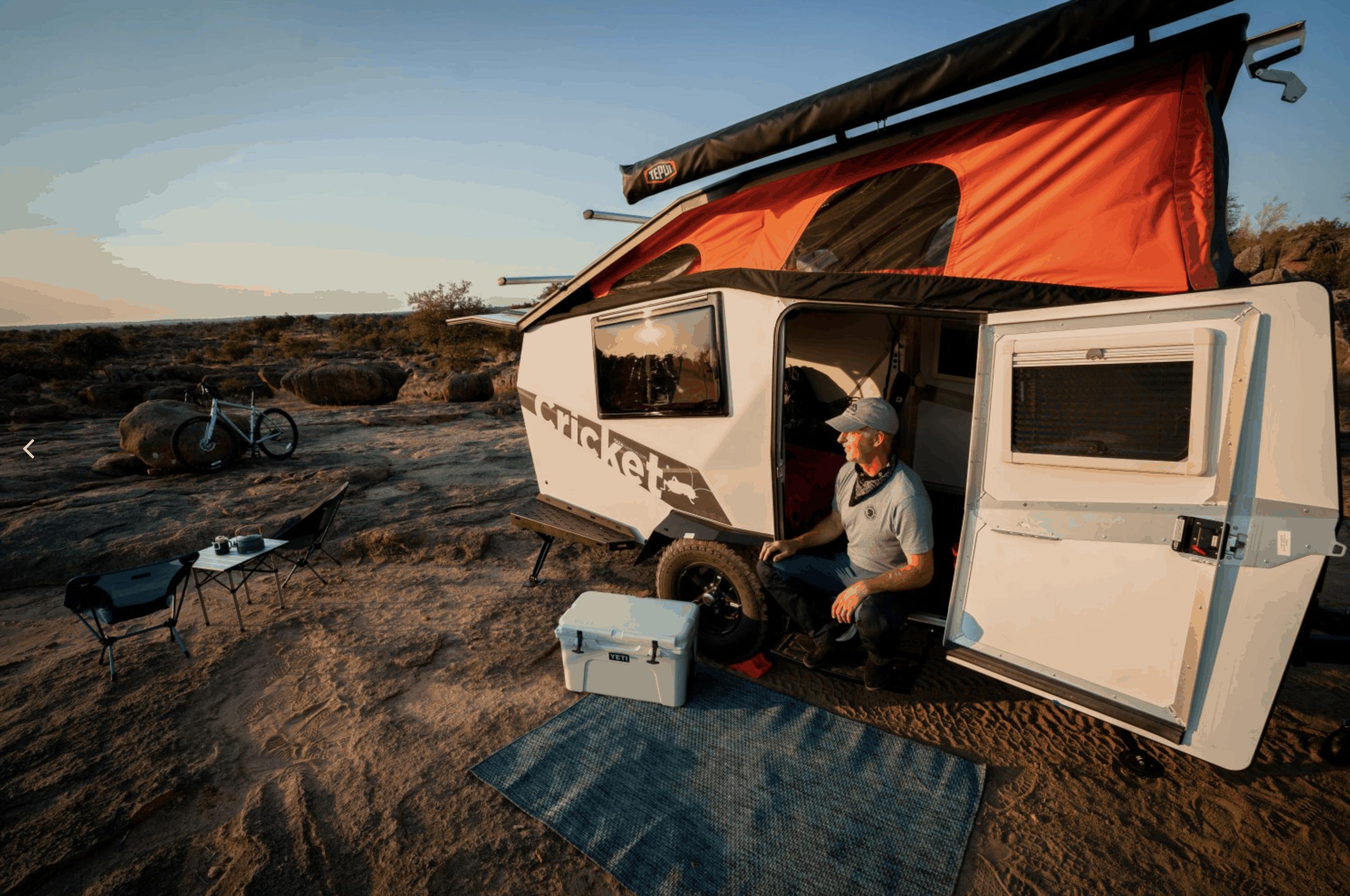 TAXA Outdoors Cricket - the best pop-up camper?