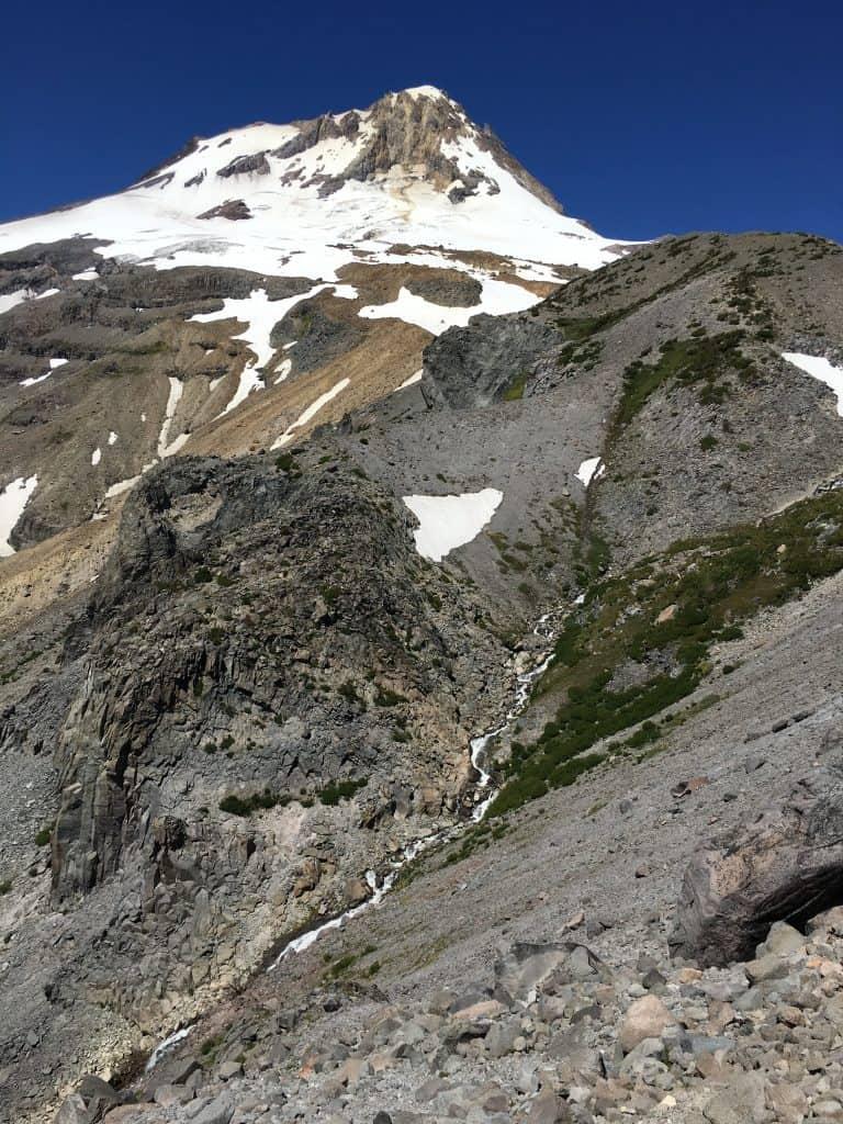 Timberline Trail Gnarl Ridge Mt Hood