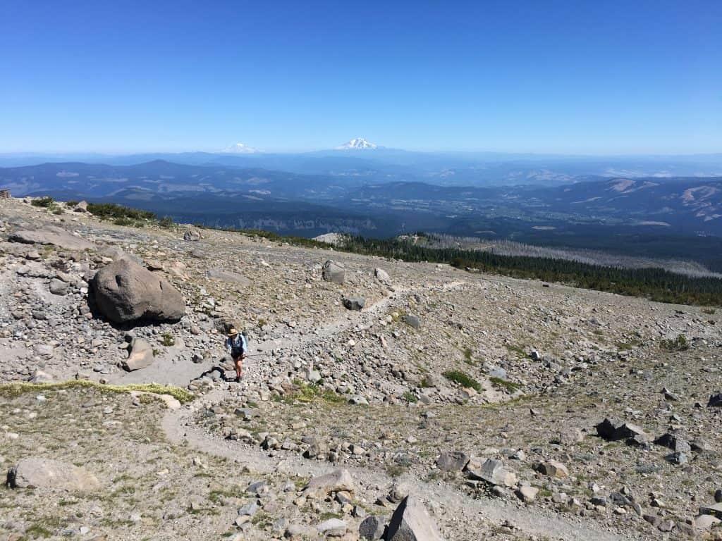 Timberline Trail Washington Peaks