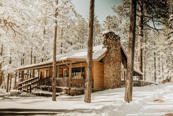 A Pinetop cabin rental straight from the