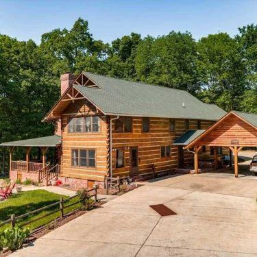 best cabin rentals nashville tn