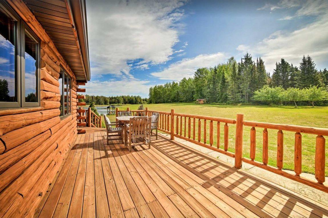 best upper peninsula cabin rentals michigan