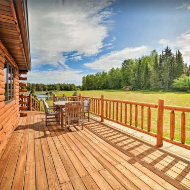 best upper peninsula cabin rentals michigan