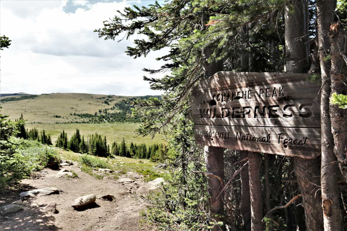 comanche peak wilderness