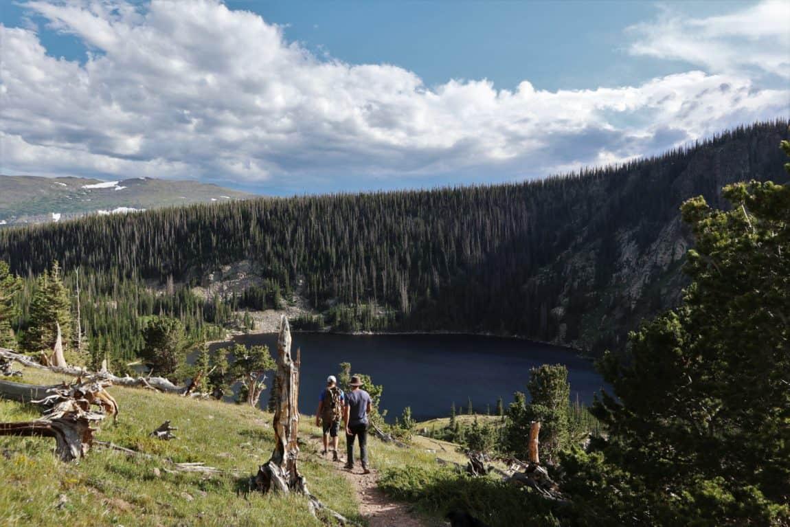 browns lake trail hike