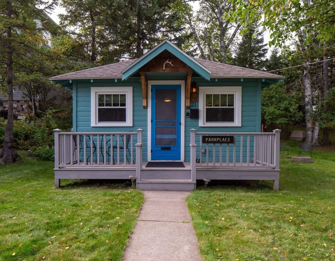 cozy tiny cabin mn
