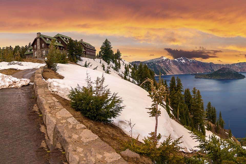 crater lake road trip
