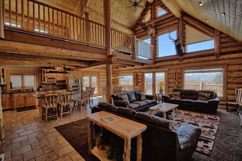 heber city log cabin