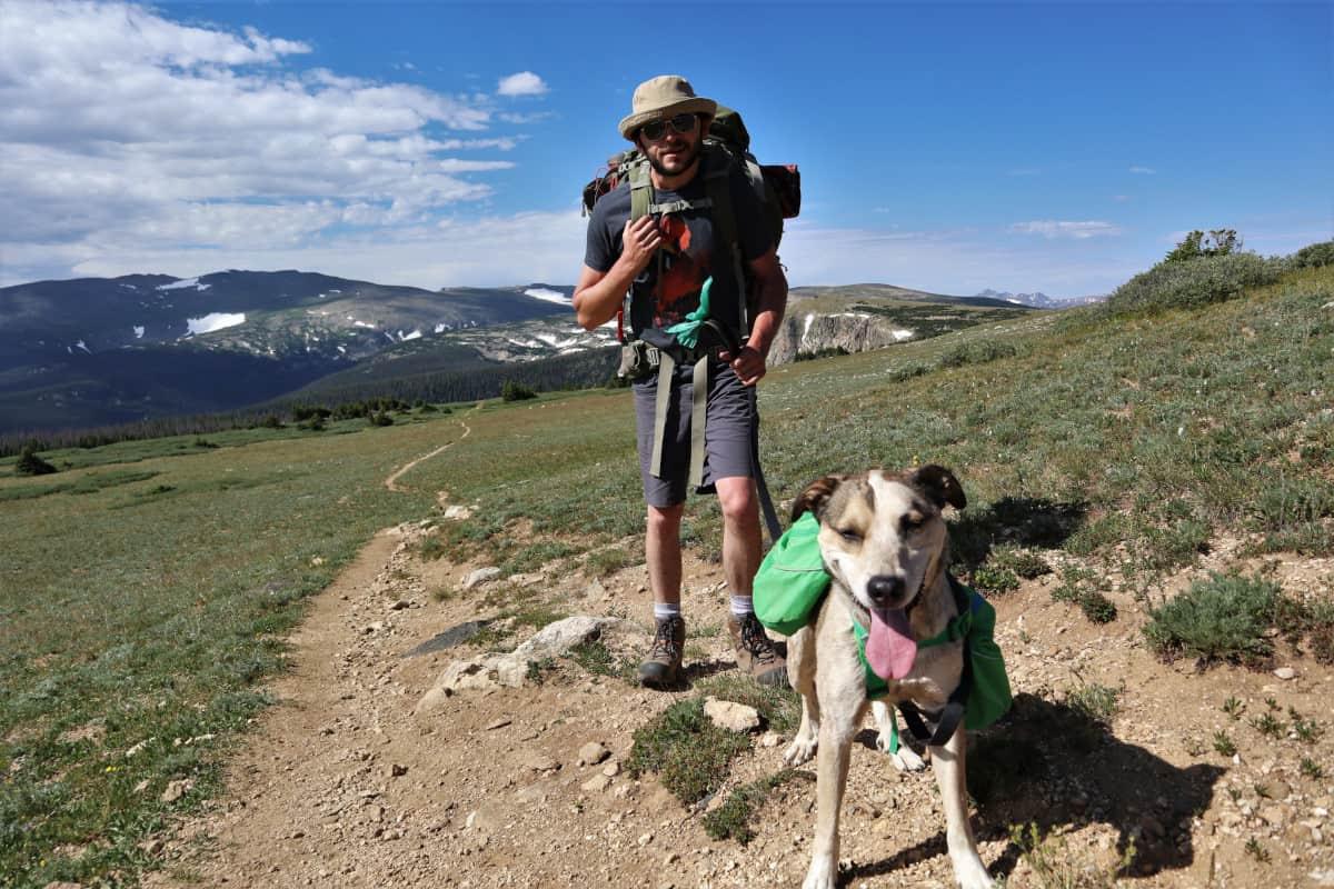 hiking browns lake trail