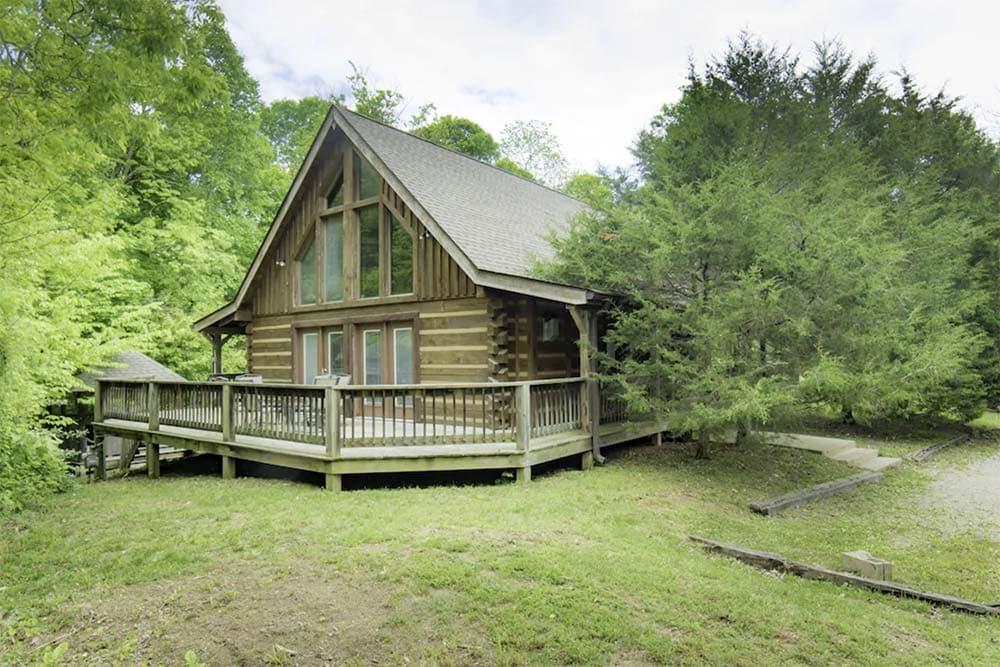 lake house cabin rental indiana
