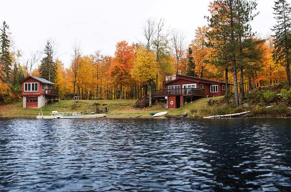 lakeside UP cabin rentals