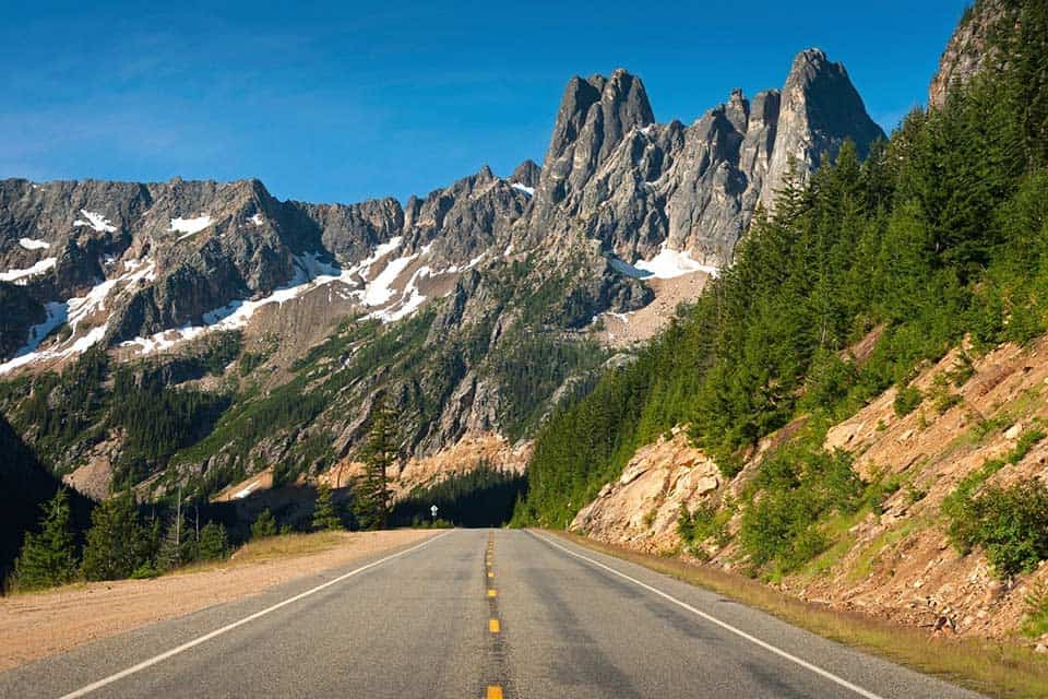 north cascades pnw road trip