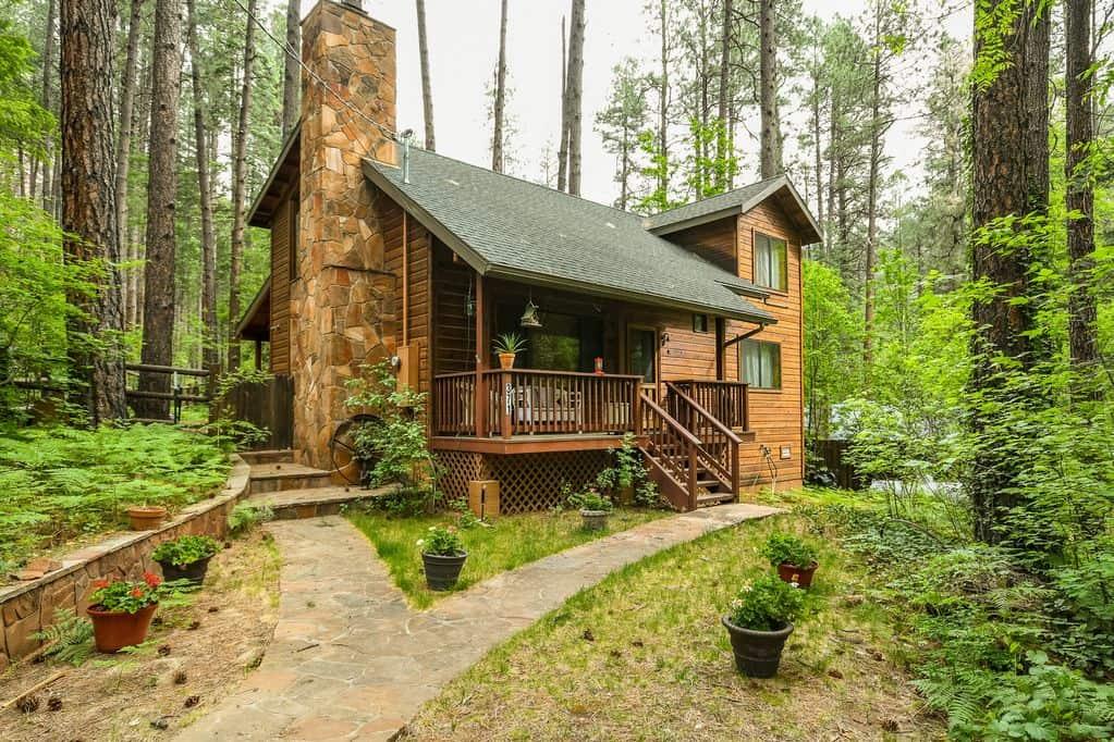 oak creek cabin rental