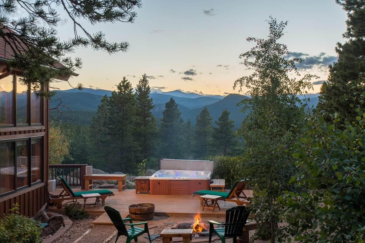 54 acre colorado cabin retreat