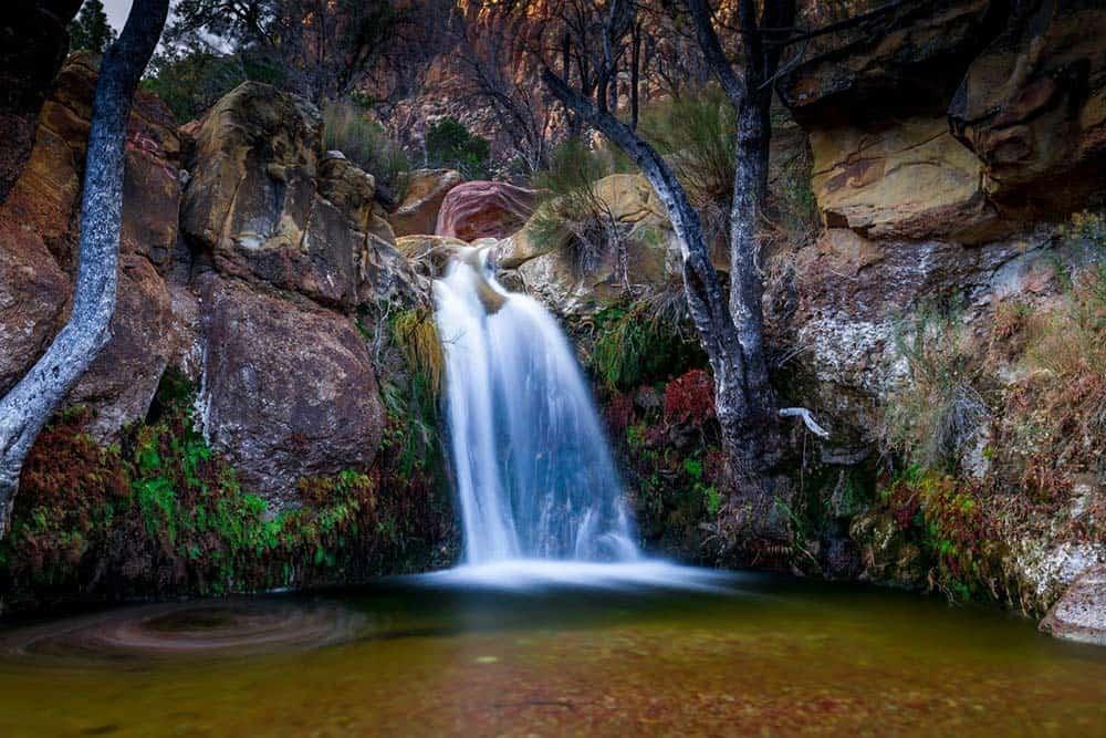 First Creek Waterfall Red Rocks
