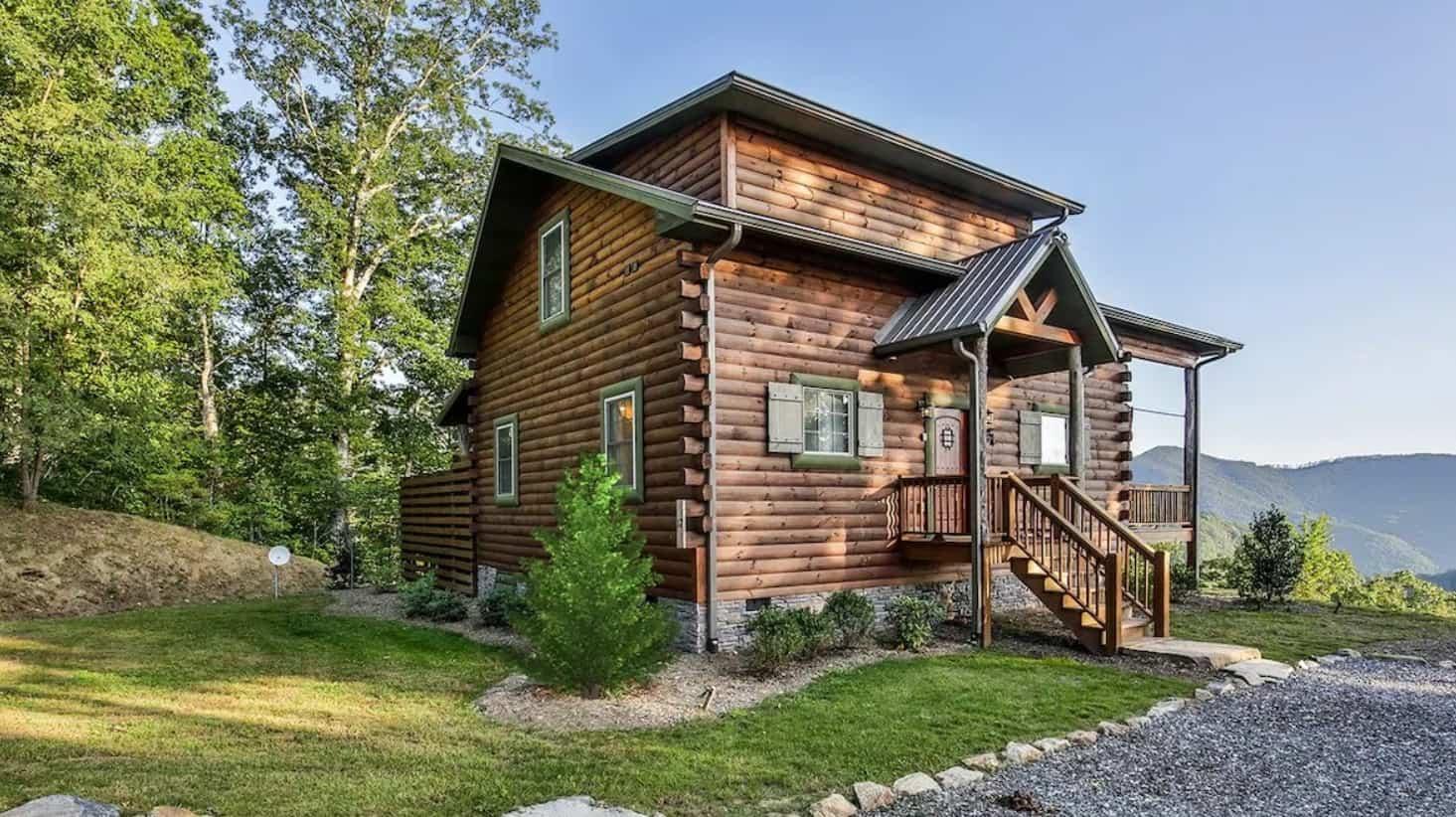 blue bear cabin