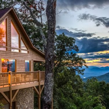 cabin rentals near cherokee north carolina