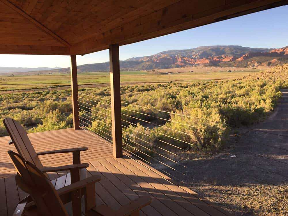capitol reef secluded cabin rental