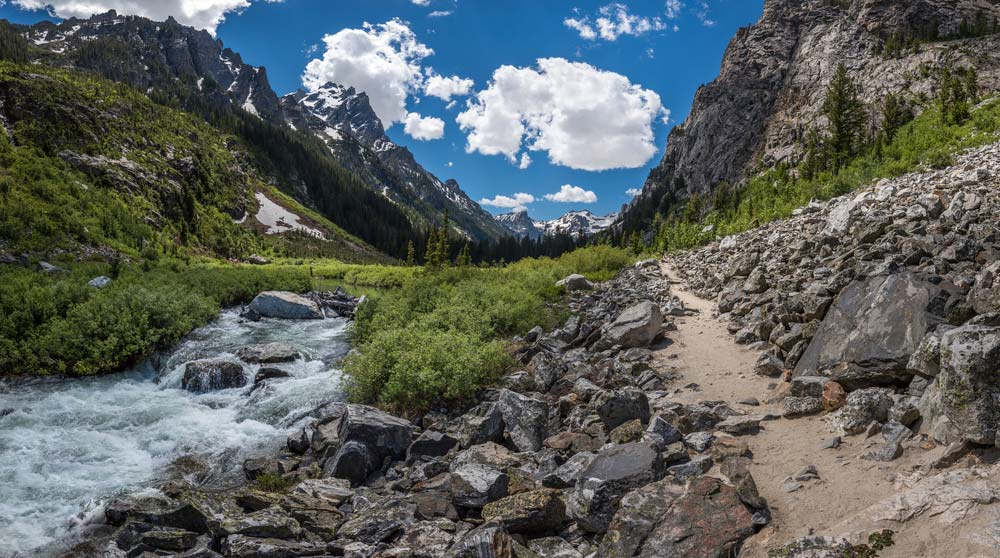 cascade canyon trail grand teton