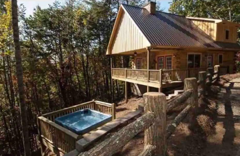 cherokee cabin rental