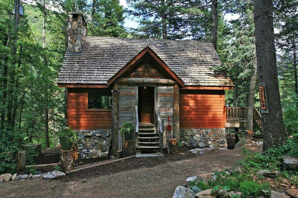 conifer creek secluded ut cabin