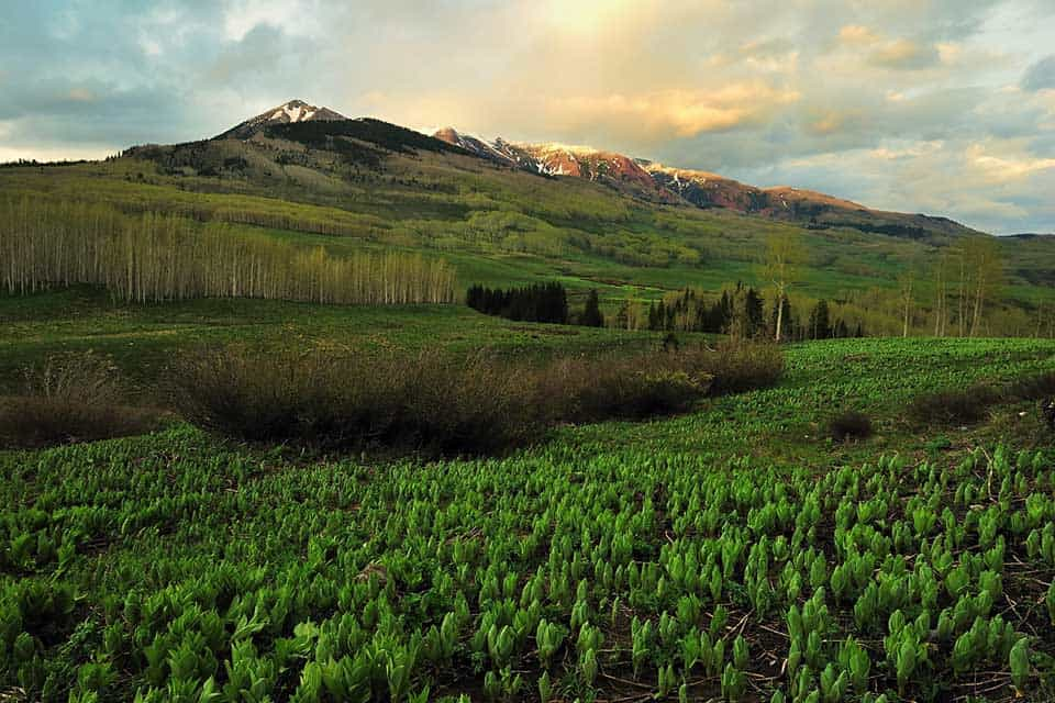 copper lake hike crested butte