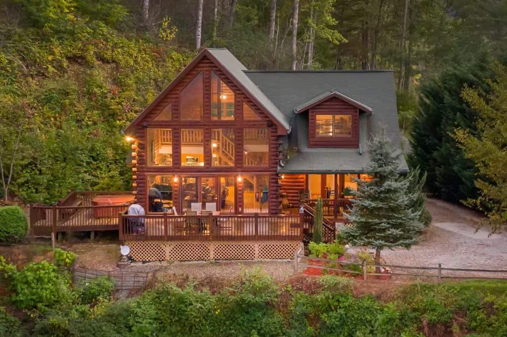 eagles nest hideaway cabin rental