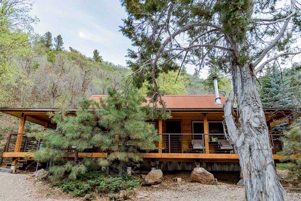 hideaway secluded utah cabin rental